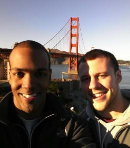 San Fran with Justin