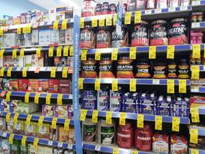 Walgreens Supplement Wall